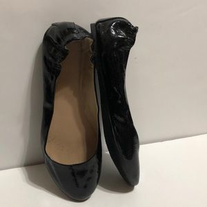 Mossimo Supply Co Faux Patent Leather Ballet Flats